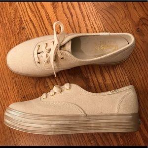Keds Triple Decker Shimmer Sneaker